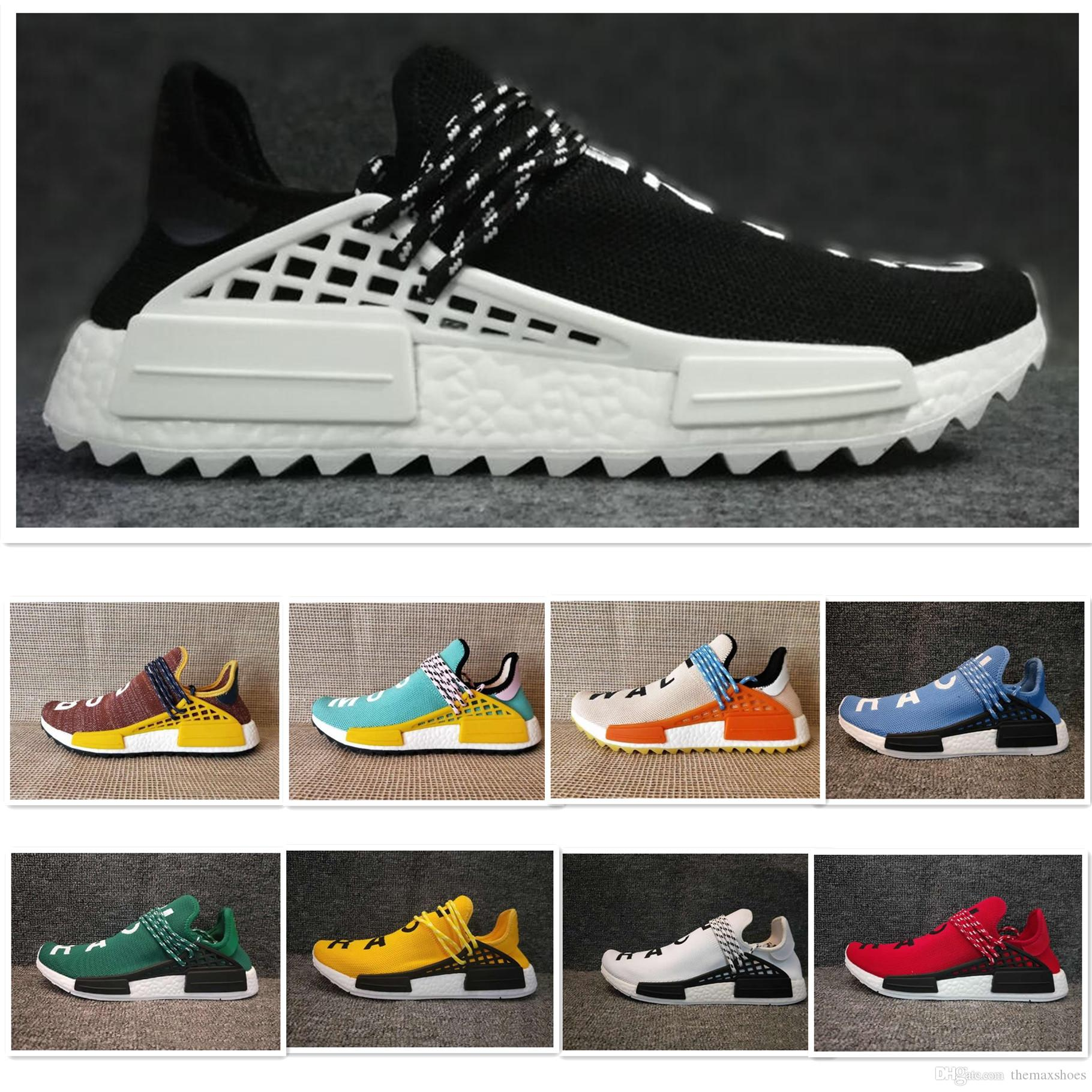 90c7b0cec00dc 2018 Human Race Trail Running Shoes Men Women Pharrell Williams HU ...