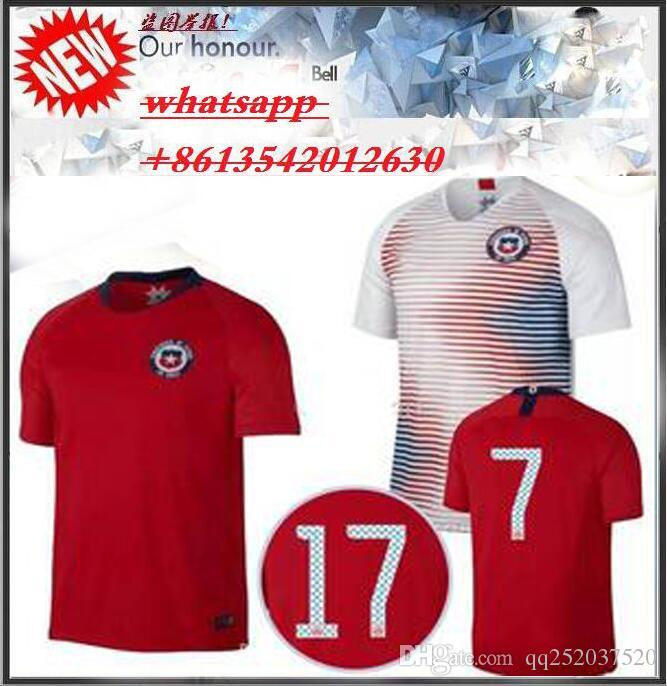 2018 Chile Soccer Jersey 18 19 Chile Home Away White Camisa De Futebol  ALEXIS VIDAL MEDEL 2018 Football Shirt World Cup Maillot UK 2019 From  Qq252037520 dbc7cf05f