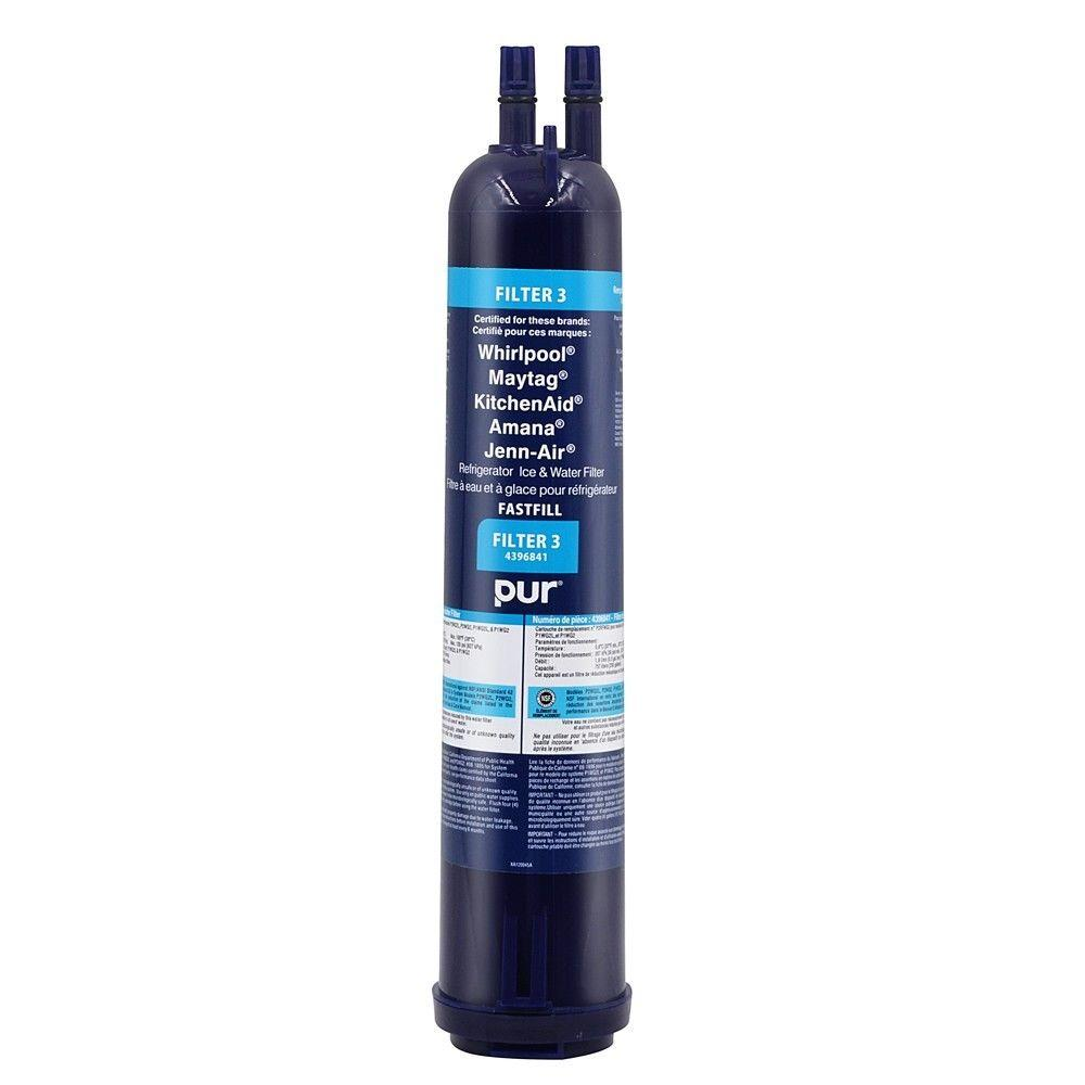 US shipping Replaces 4396508 refrigerators Whirlpool EveryDrop Refrigerator  Water Filter 3 Ice and Water refrigerator filters