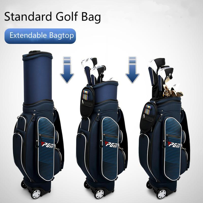 3e97431d8d Acheter Sac De Golf Standard Sac De Couchage Extensible Tissu Imperméable  Sac De Voyage Pour Golf Avec 6 Divisions Avec Housse De Protection Contre  Les ...