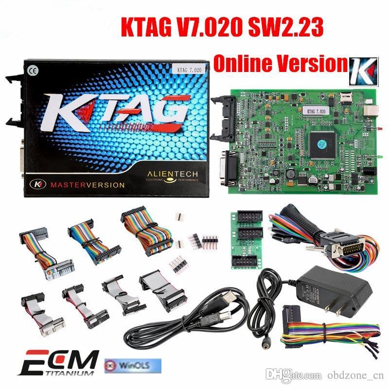 Latest Version V2 23 KTAG ECU Programming Tool Firmware V7 020 KTAG Master  Version with Unlimited Token