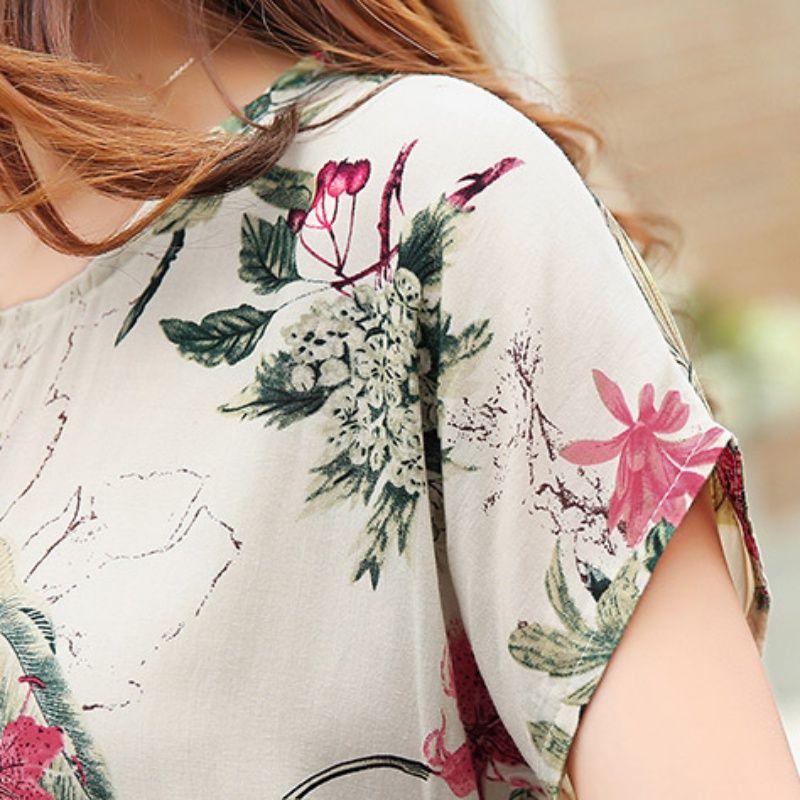 Blumendruck Frauen Blusen Damen Shirts Sommer Tops Casual Plus Size Bluse Shirt Mode koreanische 2017 neue Blusas weiblich