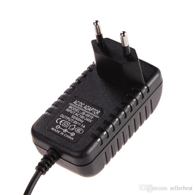 1 м во всем мире адаптер зарядное устройство AC 100-240 В конвертер адаптер DC 5.5 x 2.5 мм 9 В 1A 1000 мА зарядное устройство EU Plug импульсный источник питания