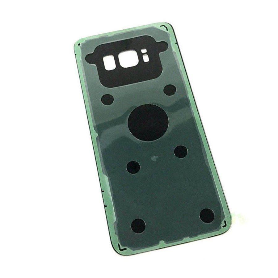 الغطاء الخلفي الزجاج لسامسونج غالاكسي s8 g950 مقابل s8 زائد + g955 استبدال البطارية الغلاف الخلفي الإسكان الباب 60 قطعة / الوحدة