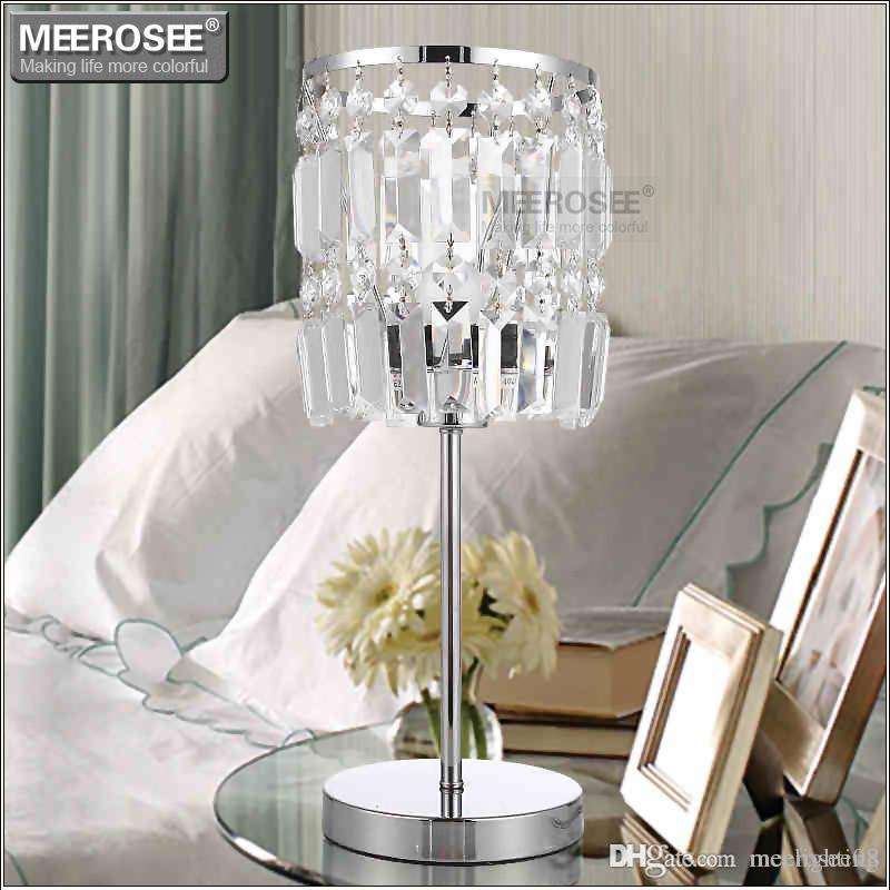 Crystal Table Light Modern Cristal Reading Lamp for Living room Crystal Desk Light Crystal bedside Light