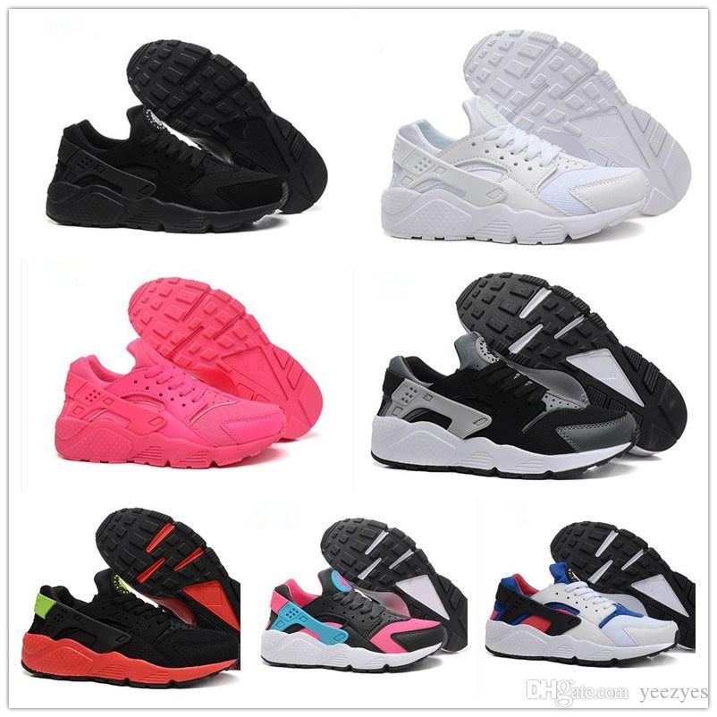 new products 2c7f3 6f577 Acquista 2017 New Nike Air Huarache Iv 4.0 Scarpe Da Trekking Ultra  Huraches Scarpe Da Ginnastica Uomo Donna Scarpe Multicolor Sneakers Triple Huaraches  A ...