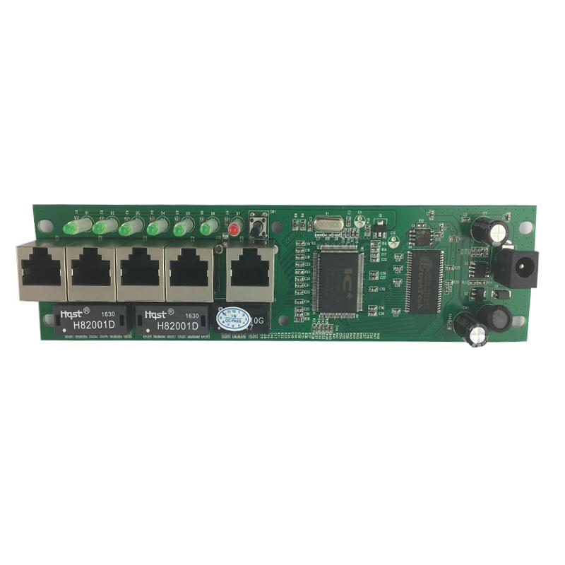 Mini Size Intelligent Wired Distribution Box 5 Port Router Modules ...