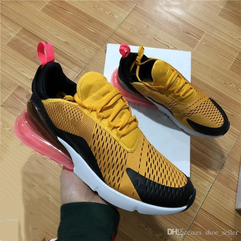 0662502cb0e336 2018 New 270 KPU Men Running Shoes Plastic Vapor Training Outdoor Sports  Mens Womens Air Sole 270s Trainers Zapatos Sneakers Size 5-11 Running Shoes  270 ...