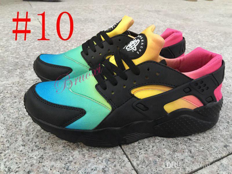 huge discount 0b4dc 97e23 New Huarache Ultra Casual Shoes For Men & Women, Black White Red Sneakers  Triple Huaraches Sports Shoes Size 36-45