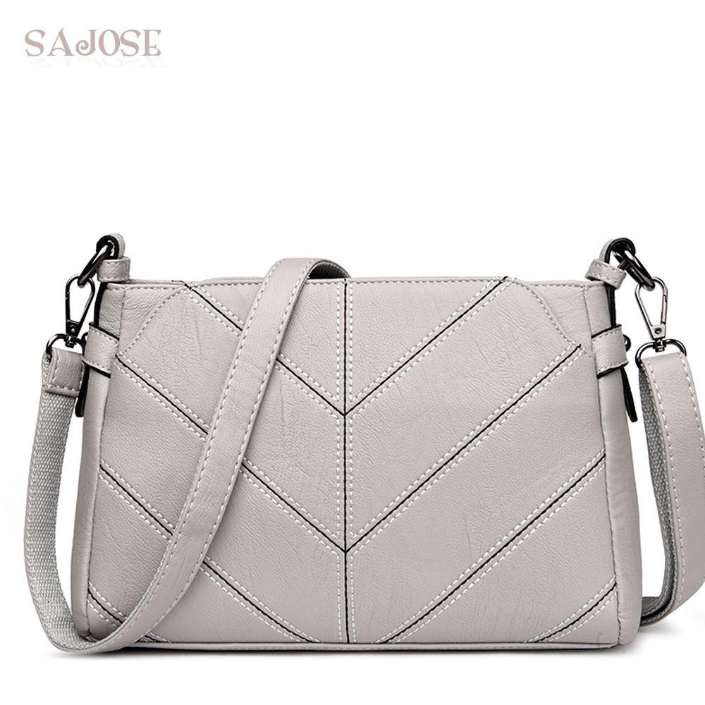 7bd315c3bcc7 Women Messenger Bags Designer Ladies Flap Simple Handbags Women ...