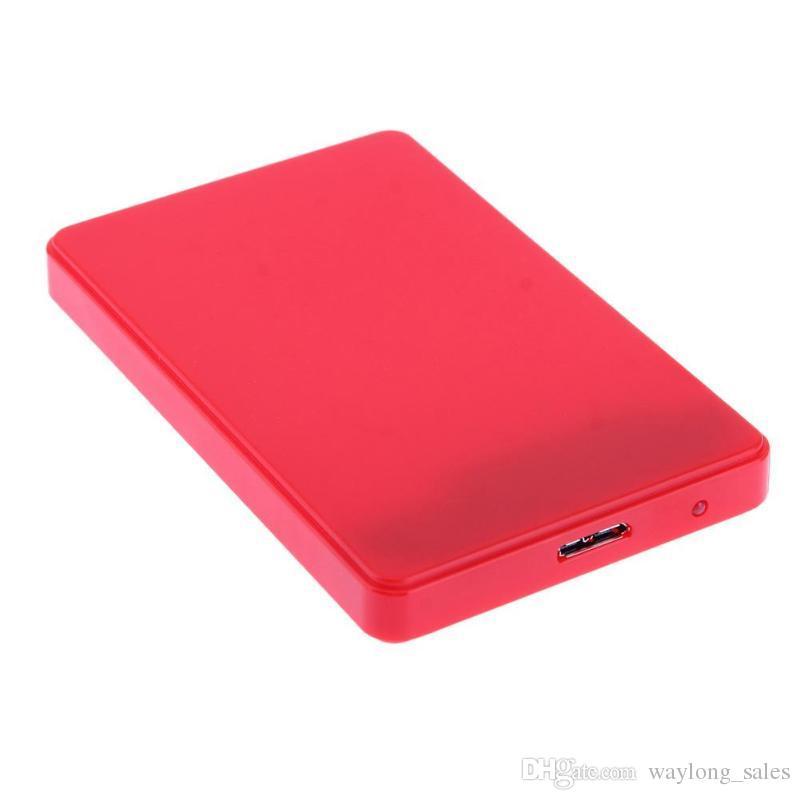 Haute Vitesse USB 3.0 Disque Dur Boîtier Externe 2.5 pouces SATA HDD Enclosure ABS Boîte Pour Disque Dur Diisk expédition libre