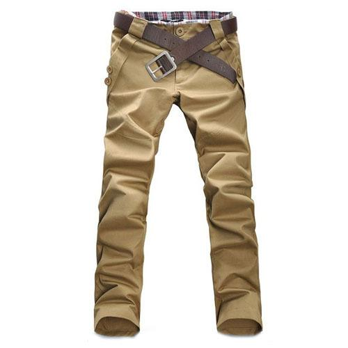 d457f02e3f68 Wholesale- 2017 New Arrival Mens Casual Solid Skinny Pants Slim ...