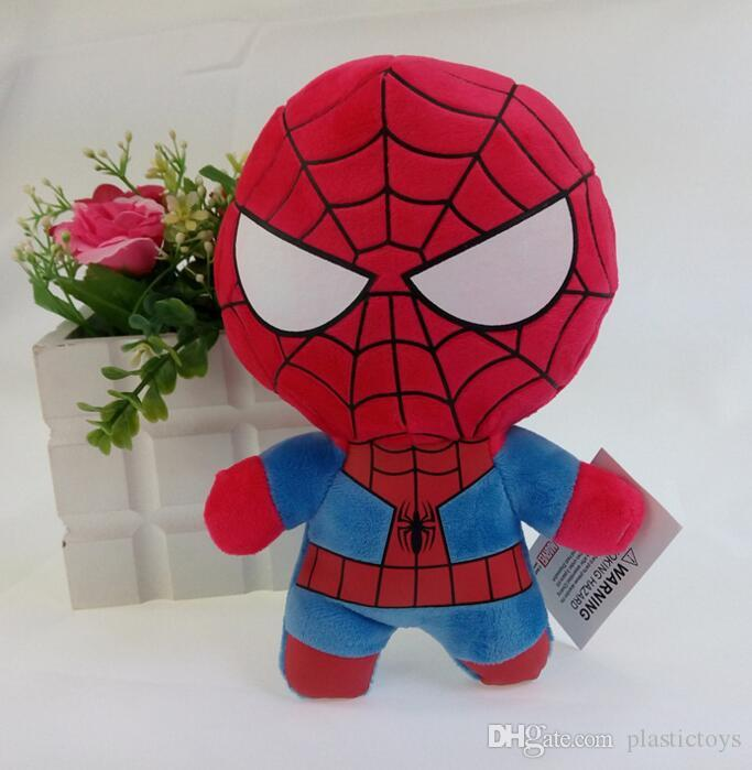 kids The avengers Plush dolls toy toy spiderman toys super heroes avengers Alliance marvel the avengers dolls 2Q version