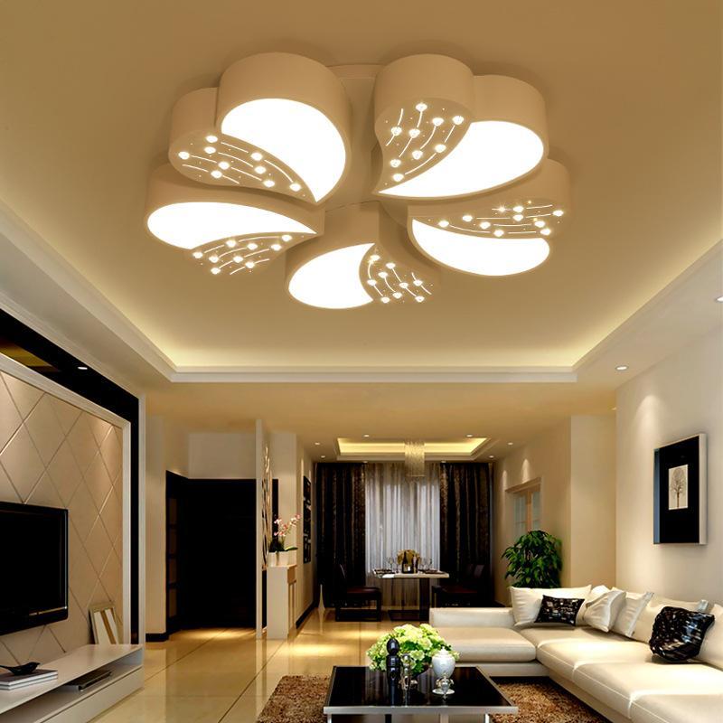 Acheter Lampe De Plafond Moderne Simple Chambre À Coucher De $192.93 Du  Alluring   DHgate.Com