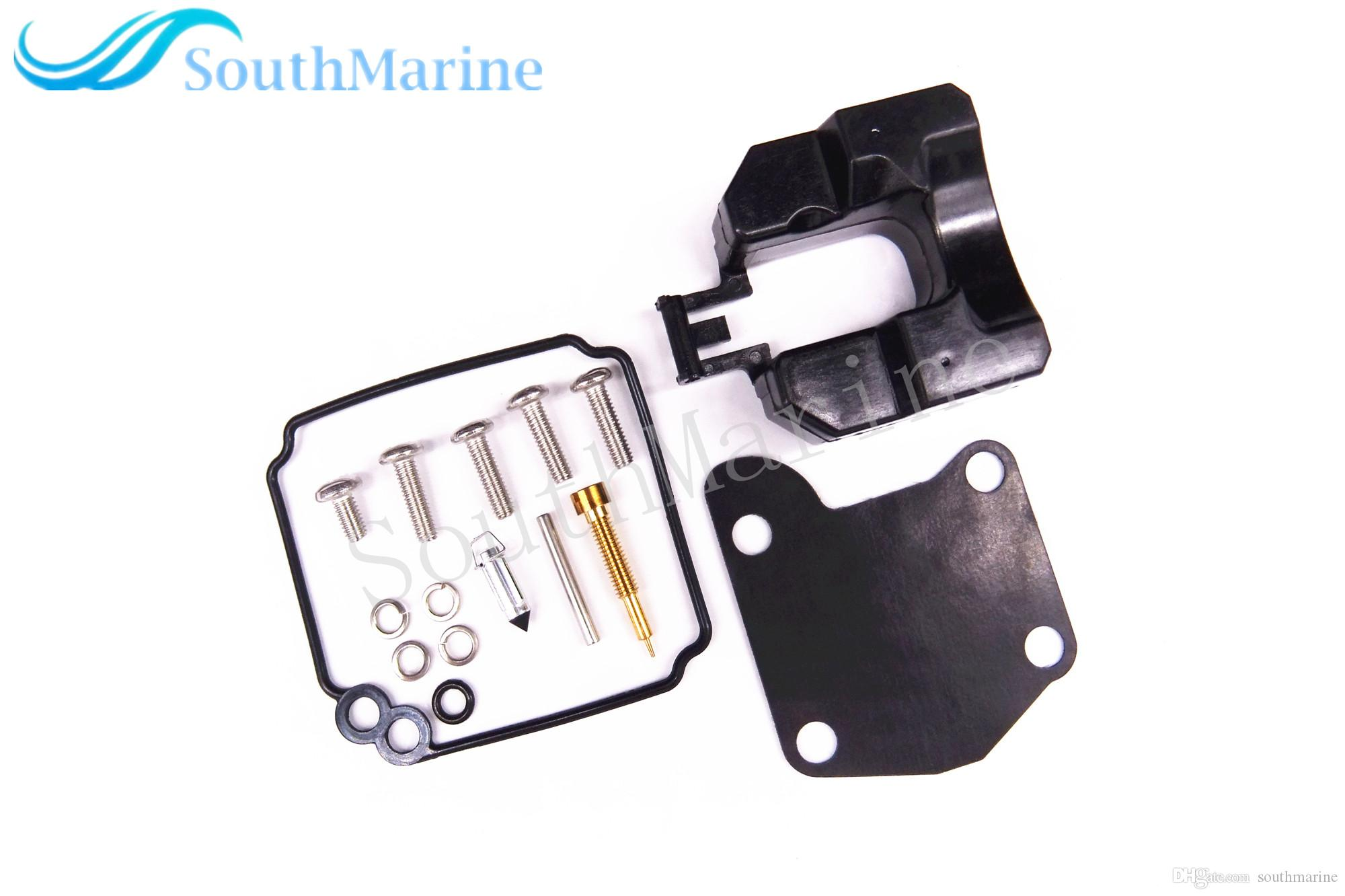 Boat Motor Carburetor Repair Kit 63V-W0093-00-00 for Yamaha 2-Stroke 9 9HP  15HP Outboard Engine