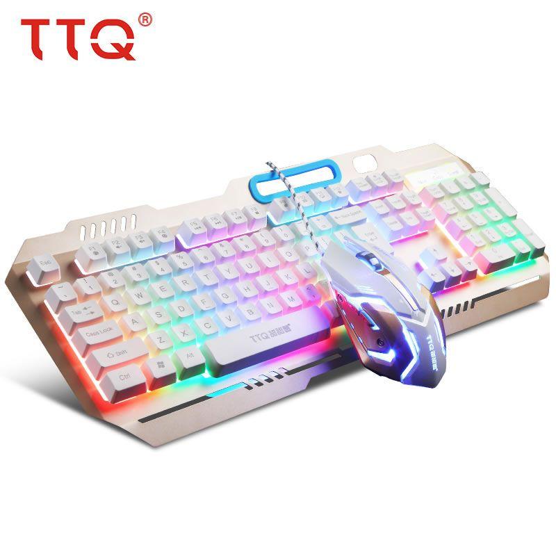 55fe86baa46 2019 TTQ USB Gaming Keyboard Mouse Mechanical Feel Keyboard Set Wired  2000DPI Gamer Set Gamer Profesional Razer Led Gaming Mouse From Jeha,  $60.31   DHgate.