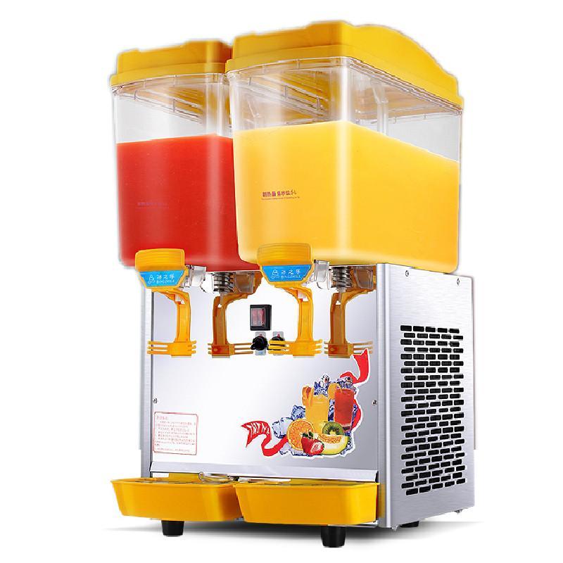 2019 Qihang Top 2 Tank 17l 2 Commercial Fruit Juicer Dispenser