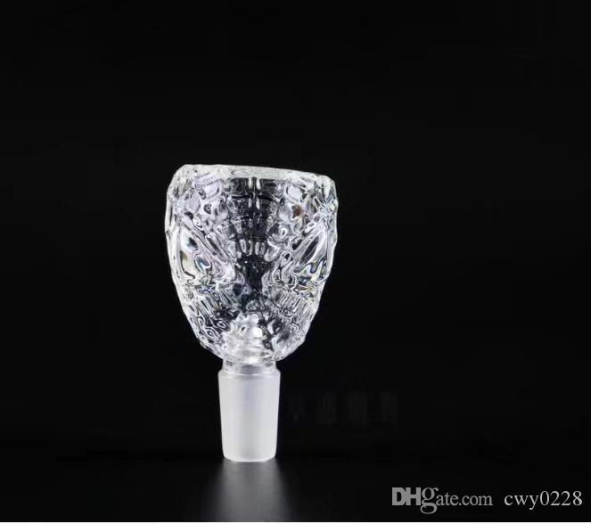 Transparent bubble head ,Wholesale Glass bongs Oil Burner Pipes Water Pipes Glass Pipe Oil Rigs Smoking,