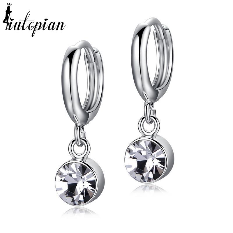 Spring Hoop Earrings Iutopian Spring New Arrival Classic Hoop Earrings  Brincos With Alloy Anti Allergy Girl Jewelry 1 RG85123 UK 2019 From  Ornaments store 4fbcba9b3249