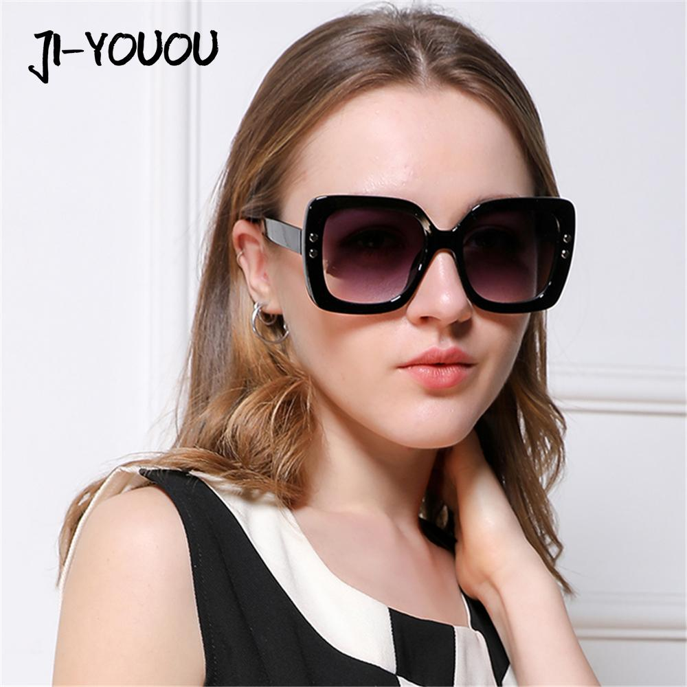 c696d4a7d13 Sunglasses For Women Brand Cateye Goggles 2018 New HD Oculos Vintage Square  Plastic Frame Shades UV400 Ladies Sun Glasses Black Sunglasses Cycling ...