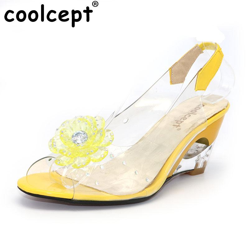 info for 54ddb 77e5e Coolcept Größe 34-43 Fabrikpreis Rom stilvolle hochwertige Mode Keilabsatz  Sandalen Kleid Freizeitschuhe Damen Sandalen PA00892