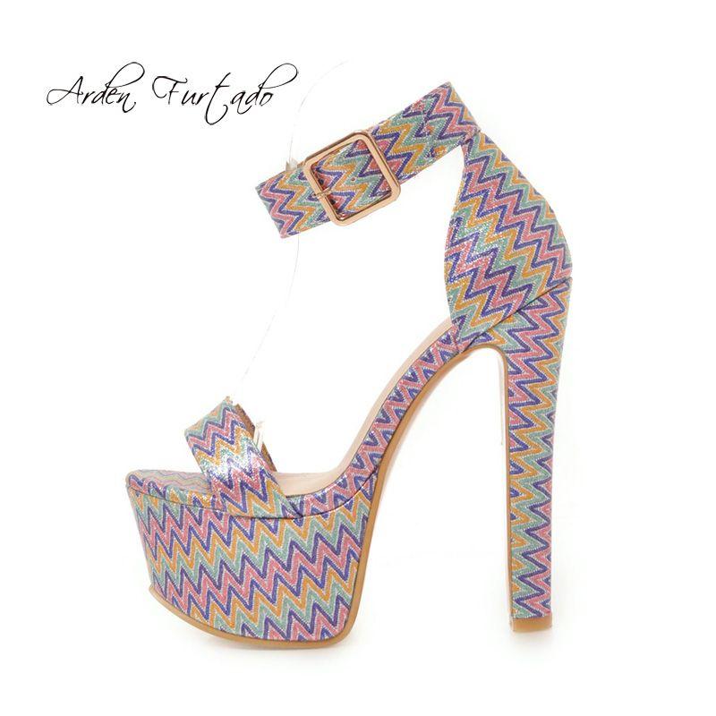 704464a2b60a Cheap Vintage Wedge Heel Sandals Women Best Rhinestone Thin Heels Sandals