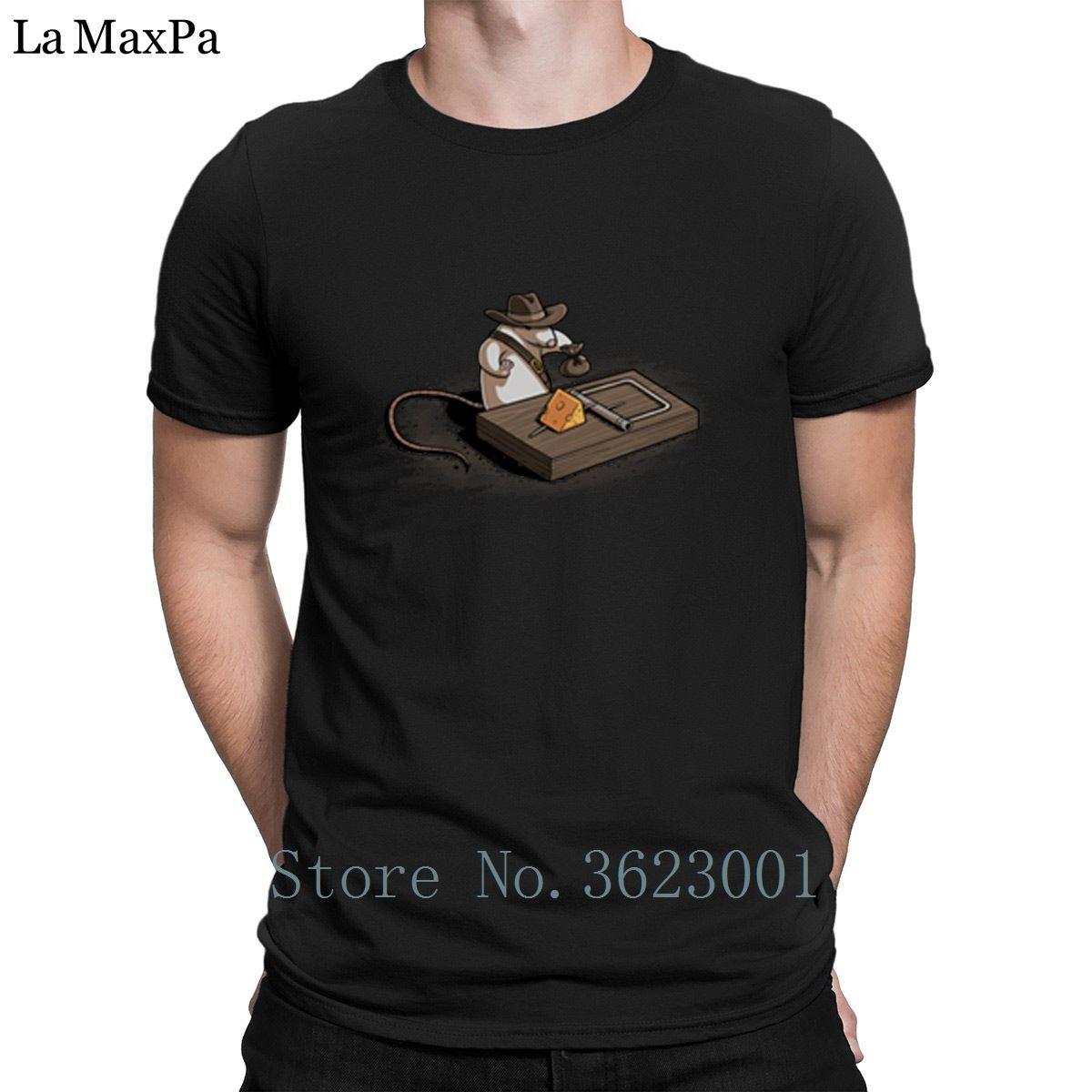 c9e00161ef7c2 Customize Cotton Men S Tee Shirt Indiana Mouse T Shirt Man Humorous Funny  Men Tee Shirt Novelty Men S T Shirt Graphic Clothes Cool T Shirt Sites  White ...