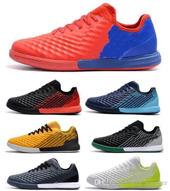 check out 54447 22d8b Compre 2018 Moda Barato MagistaX Finale II IC TF Zapatos De Fútbol Para  Hombres Magista X Futsal Interior Hombres Magista Obra Soccer Grapas Botas  De Fútbol ...