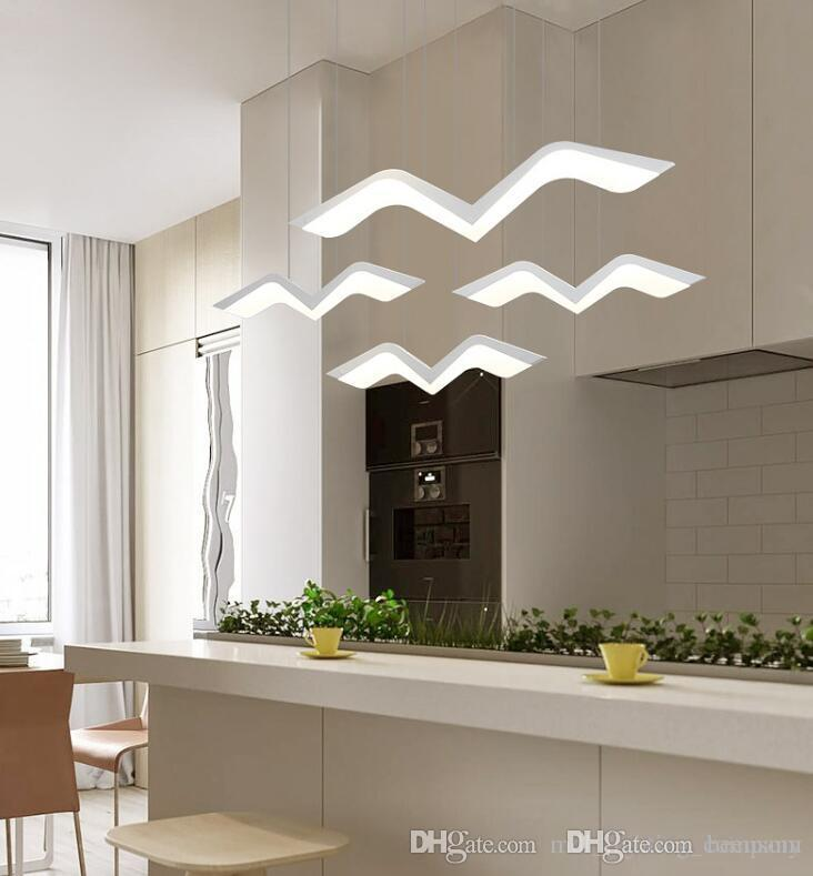 Moderne LED Hängeleuchter Lichter für Parlor Schlafzimmer Freestyle Flying  Indoor-Beleuchtung Mehrere Kombinationen Pendelleuchte