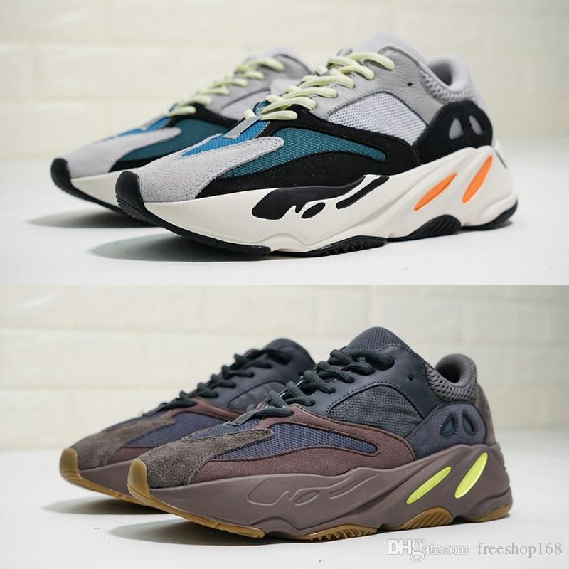 54ea36d4e1246 2019 New 700 Wave Runner Mauve Men Running Shoes 2019 Designer Kanye West  700s Sports Sneakers Cheap Brand Trainer Shoes With Box From Freeshop168