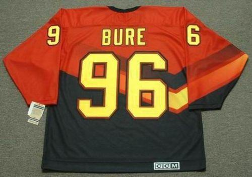 d5d0942a605 Cheap PAVEL BURE Vancouver Canucks 1995 CCM Vintage Hockey Jersey ...