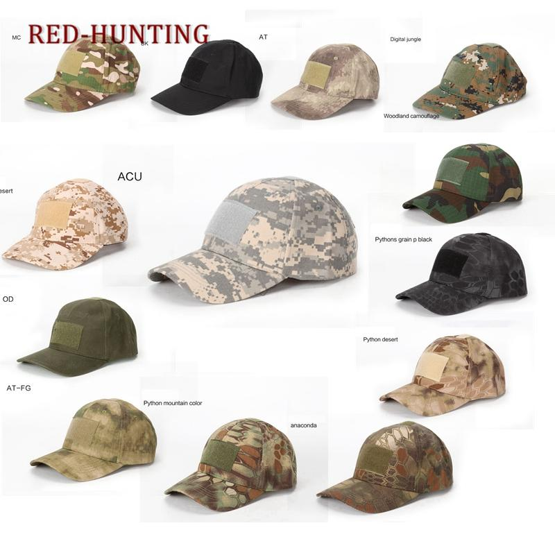 215c15abdb9 2019 Adjustable Multicam Camouflage Hats For Men Snapback Tactical Baseball  Caps Paintball Combat Army Hats From Stem