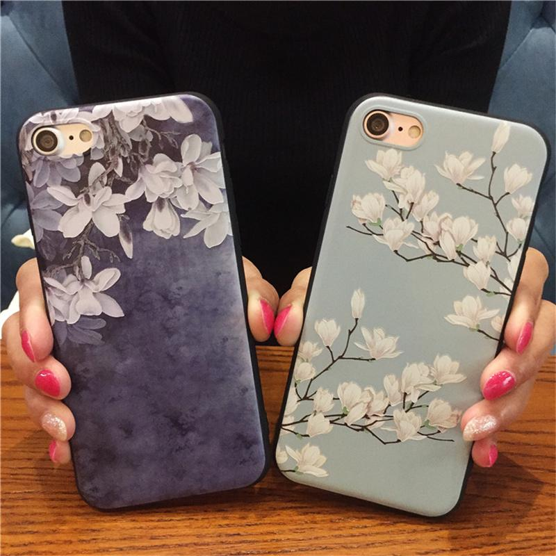 coque iphone 6 orchidée