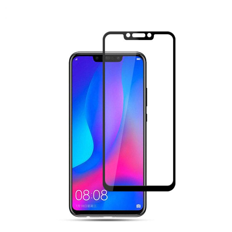 official photos d5c4f 176bf for Huawei P Smart Plus Smart INE-LX1 9H 2.5D full Cover Tempered Glass  Screen Protector for Huawei nova 3i INE-LX2 Glass film
