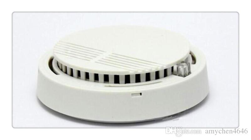 Großhandel Rauchmelder Version Weiß Home Security System Photoelektrische Unabhängige Rauchmelder Feueralarm