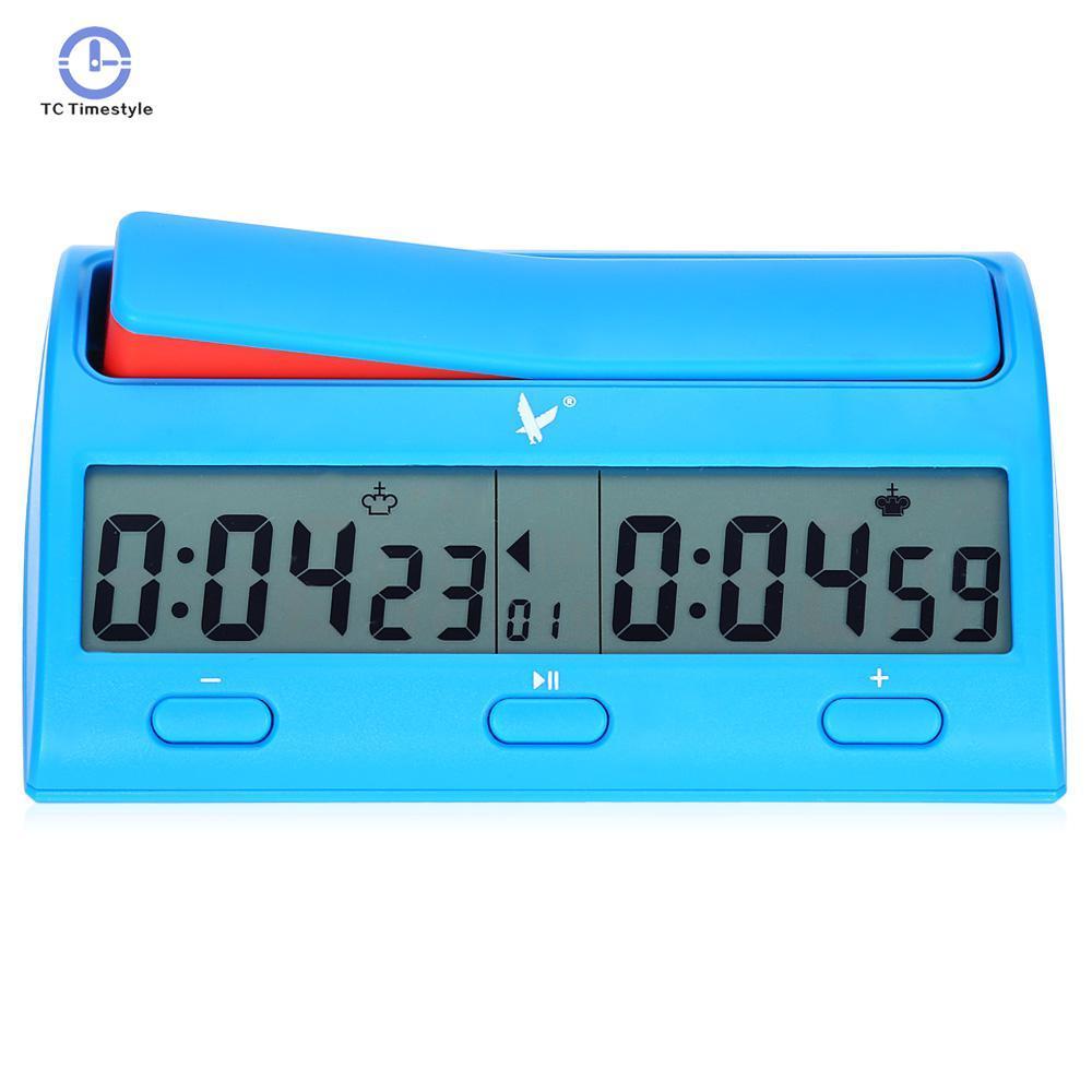 5ebb5873fca Compre Relógio De Xadrez Contagem Para Baixo Temporizador Novidade Prático  Competição Do Jogo Contagem Up Player Multifuctional Relógios Digitais ...