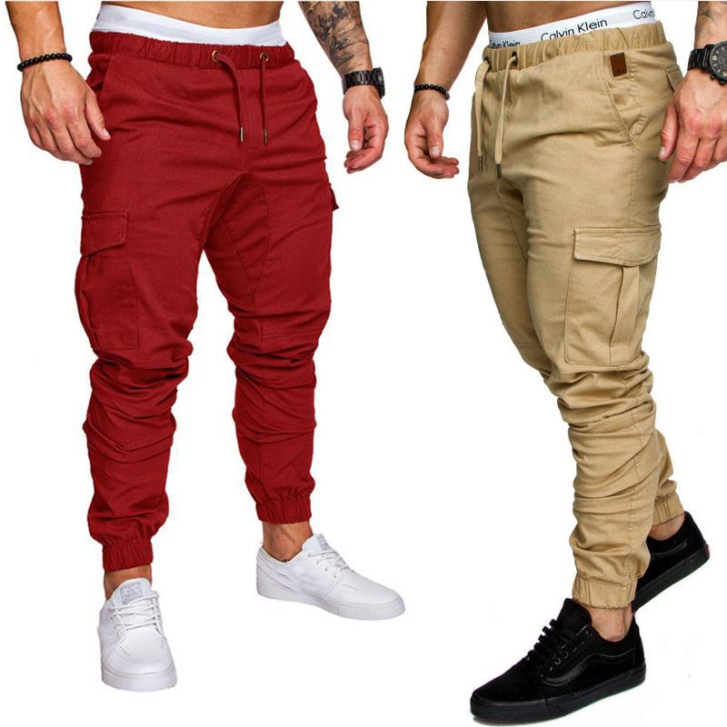 8518085633d 2019 New 2018 Running Jogging Pants Men With Pockets Leisure Sweatpants Gym  Men S Sports Pants Plus Size 4XL 3XL C18111601 From Shen8407