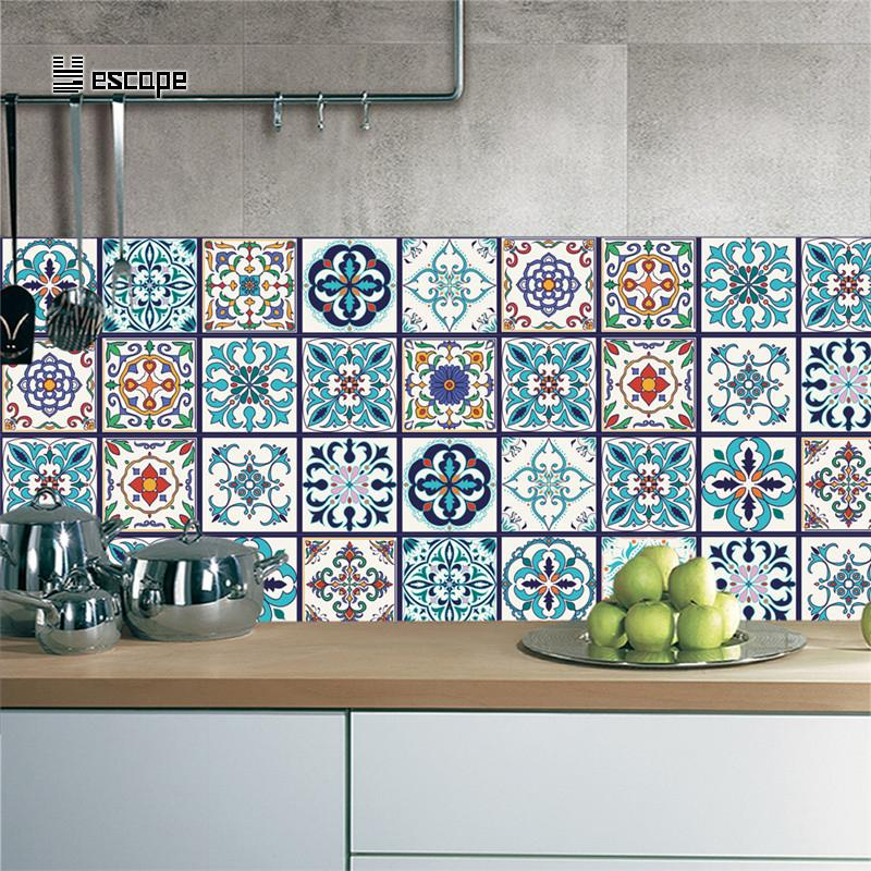 100*20cm Diy Mosaic Wall Tiles Sticker Wall Sticker Kitchen Adhesive  Bathroom Toilet Waterproof Pvc Kitchen Wallpaper Decor Black Wall Art  Stickers Black ...
