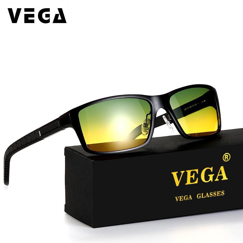 Compre Vega Alumínio Quadro Polaroid Lentes Polarizadas Dia Noite Óculos De  Condução Melhor Night Vision Goggles Das Mulheres Dos Homens 8554b De  Ancient88, ... 834d994975