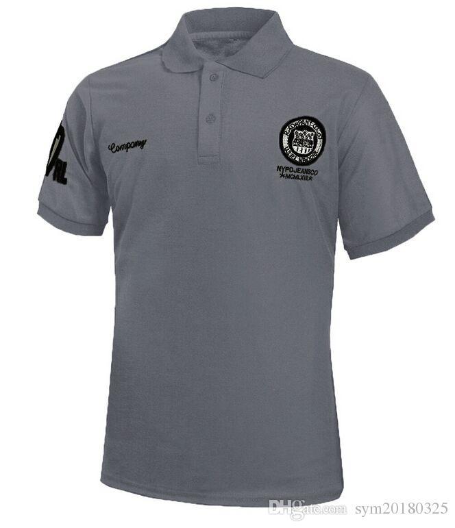 Patlayıcı modeller Erkek kısa kollu Yaz giysileri Yeni baskı Erkek kısa kollu çoklu renk T-shirt