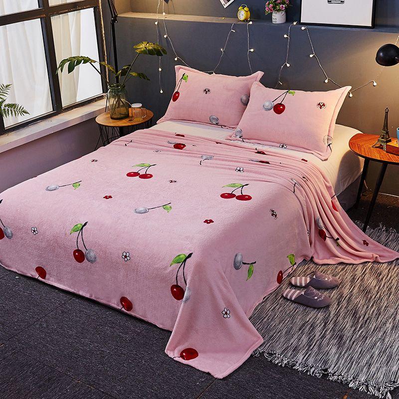 Großhandel Marke Rosa Decke Winter Dekorationen Für Zu Hause 150x230