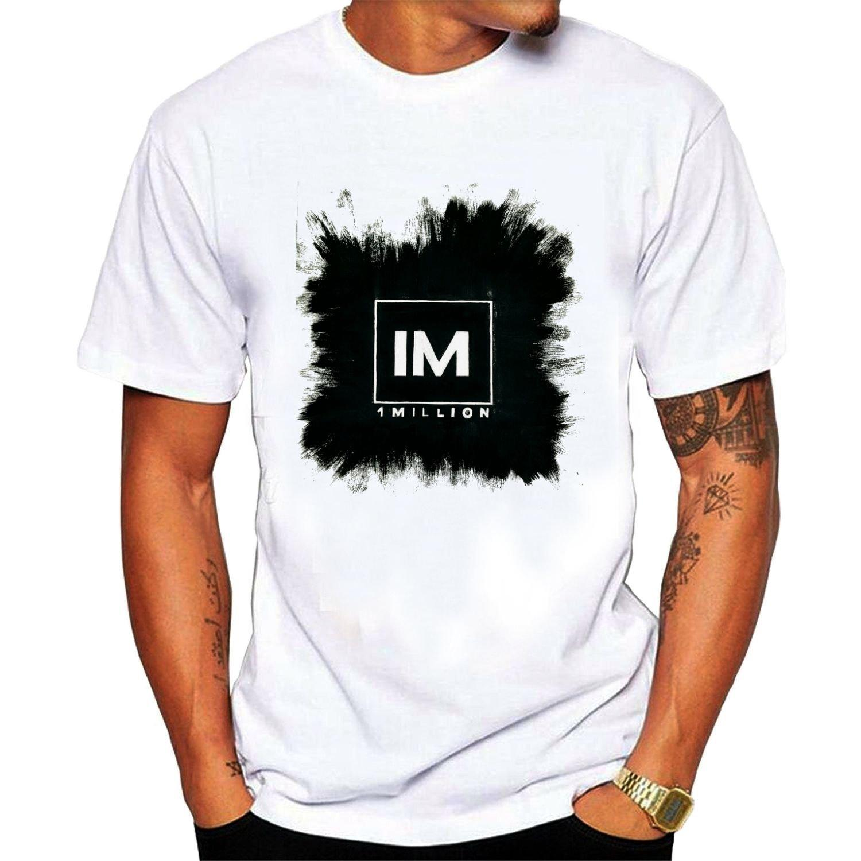 Men Printing Short Sleeve O Neck Tshirt Mens 1 Million Dance Studio