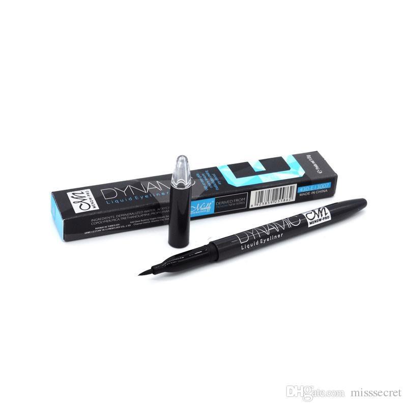 high quality Waterproof Liquid Black Eyeliner pencil menow cheap long lasting eye makeup tool Matte eye liner