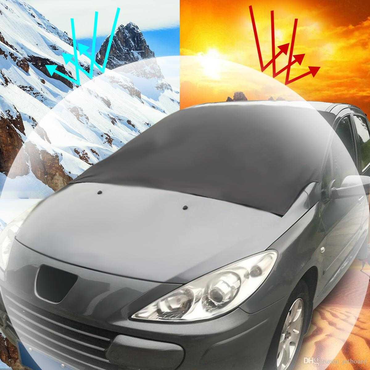 Wholesale Outdoor Travel Car Sunshade SUV Magnet Windshield Cover Sun Shield Snow Ice Sun Frost Portector