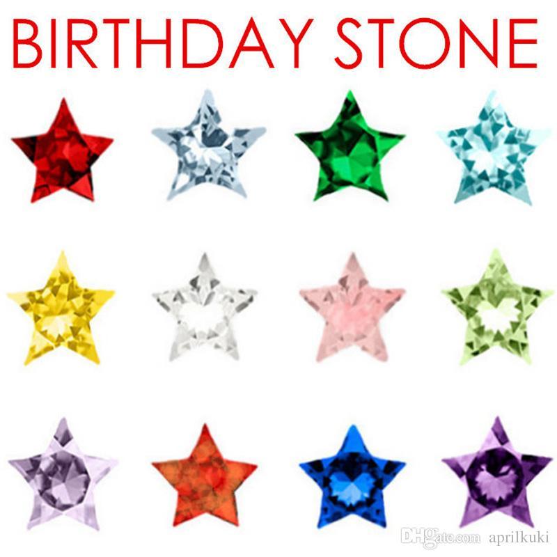 / الكثير 12 الألوان الصغيرة عيد ميلاد ستون سحر صالح للزجاج المعيشة الذاكرة العائمة المنجد هدايا للمرأة الاطفال الرجال