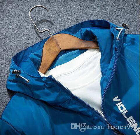 Весна осень прилив Марка корейский Мужская одежда скейтборд мода повседневная тонкий ветер доказательство cap куртка мужчины и женщины любители студент камуфляж ja