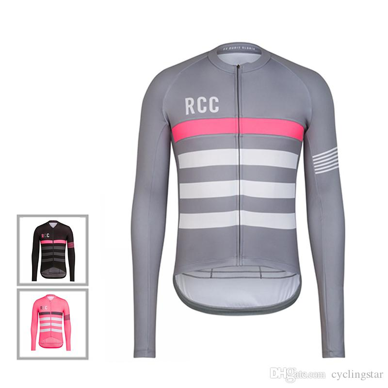 c6bc9d3b6 2018 Autumn Long Sleeve RCC Cycling Jersey Breathable Mountain Bike  Clothing Men Cycling Shirts Road Bicycle Clothes Maillot Ciclismo D0302 Long  Sleeve T ...