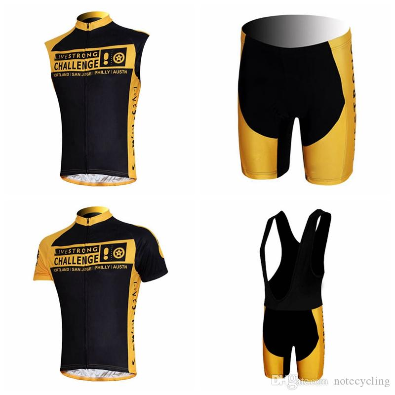 LIVESTRONG Cycling Short Sleeves Jersey Bib Shorts Sleeveless Vest Sets Top  Sales Ropa Ciclismo   Men S Cycling Outdoor   Quick Dry A41606 Cycling  Jersey ... 359621780