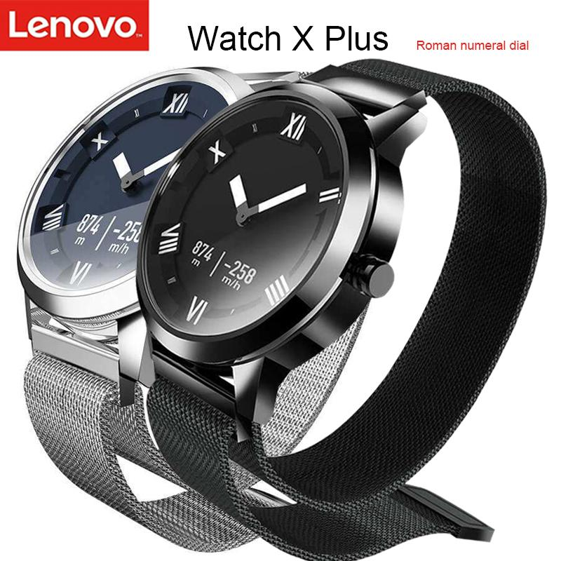 Original Lenovo Watch X Plus Smartwatch With Milanese Strap Air