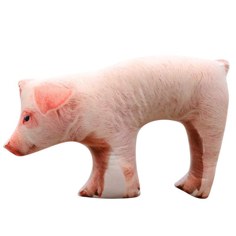 2019 25cm Cute Animal Soft Cartoon Small Pig Plush Toy Stuffed Doll